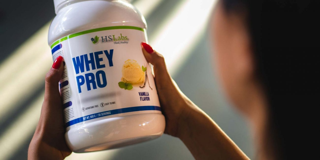 Photoshoot of Whey Protein - Pure Nutrition