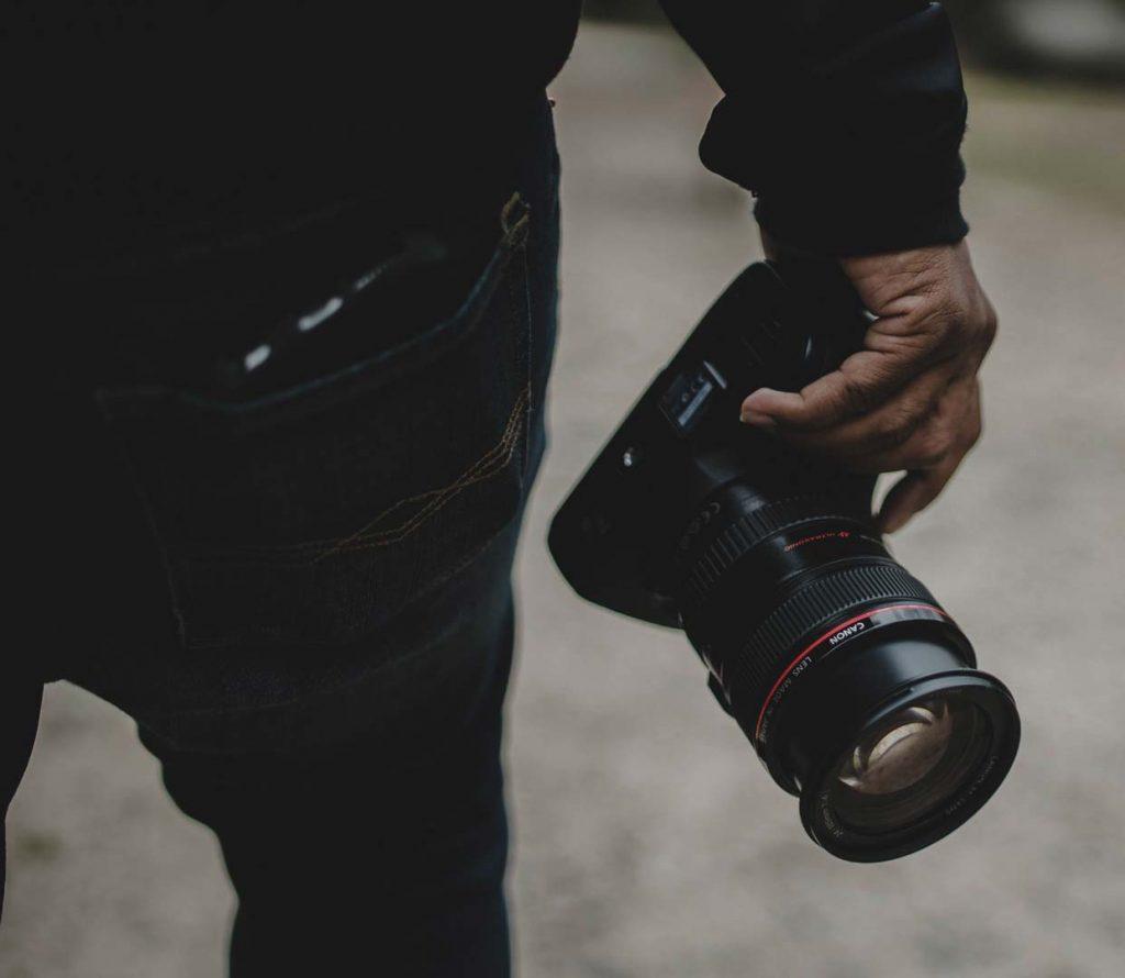Professional Photography On Set